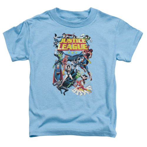 Image for Justice League of America League a Plenty Toddler T-Shirt