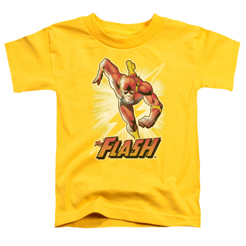 Image for Justice League of America Flash Yellow Toddler T-Shirt