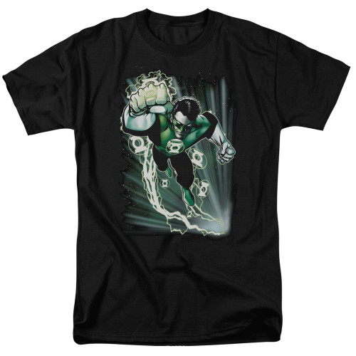 Image for Justice League of America Emerald Energy T-Shirt
