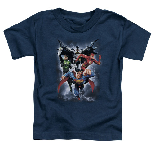 Image for Justice League of America The Coming Storm Toddler T-Shirt