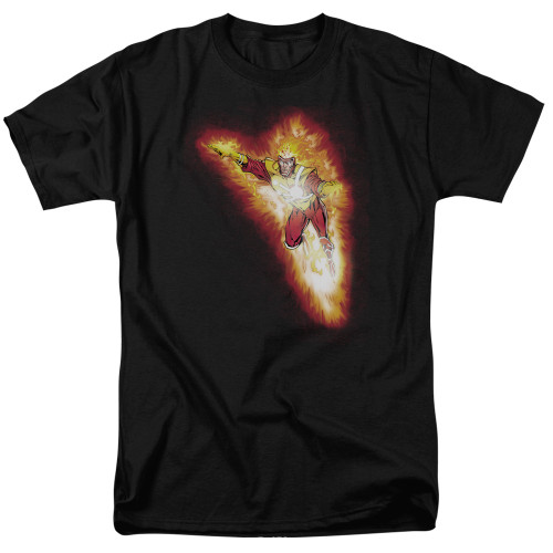 Image for Justice League of America Firestorm Blaze T-Shirt