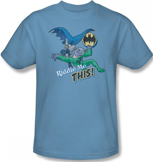 Image for Batman T-Shirt - Riddler Riddle Me This