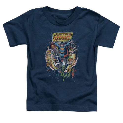 Image for Justice League of America Star Group Toddler T-Shirt
