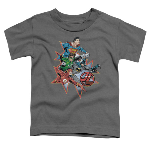 Image for Justice League of America Starburst Toddler T-Shirt