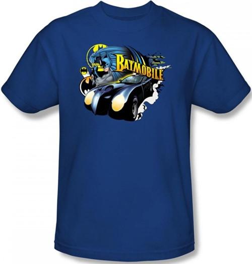 Image Closeup for Batman T-Shirt - Batmobile