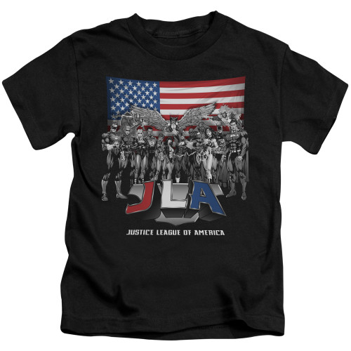 Image for Justice League of America All American Eagle Kid's T-Shirt