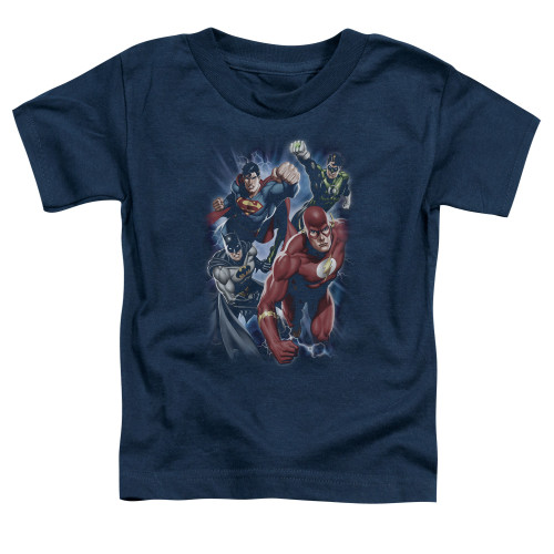 Image for Justice League of America Storm Chasers Toddler T-Shirt
