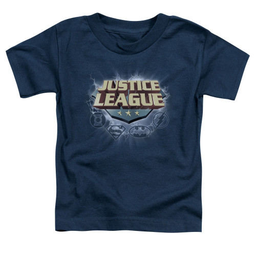 Image for Justice League of America Storm Logo Toddler T-Shirt