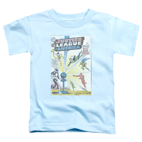 Image for Justice League of America Vintage Cover 12 Toddler T-Shirt
