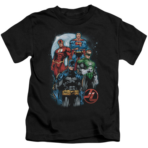 Image for Justice League of America The Four Kid's T-Shirt