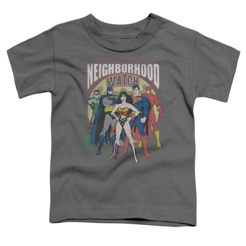 Image for Justice League of America Neighborhood Watch Toddler T-Shirt
