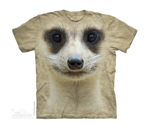 Image for The Mountain Youth T-Shirt - Meerkat Face