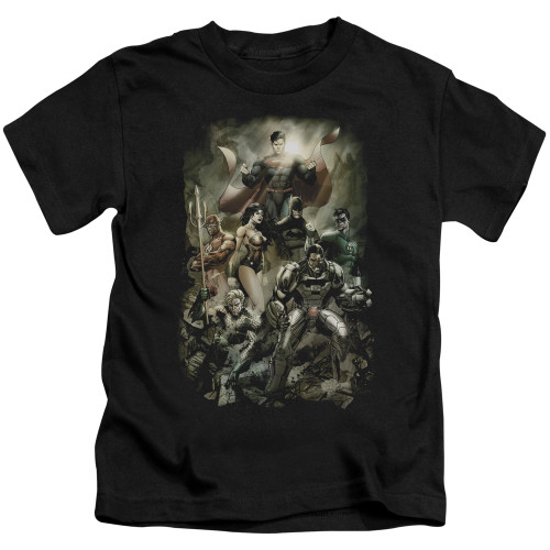 Image for Justice League of America Aftermath Kid's T-Shirt