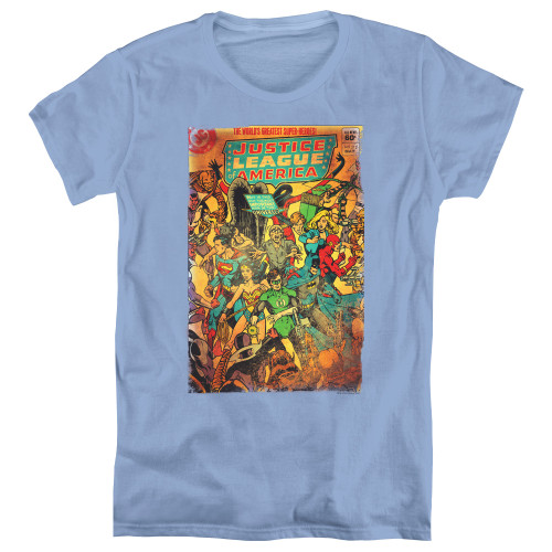 Image for Justice League of America No 212 Vintage Woman's T-Shirt