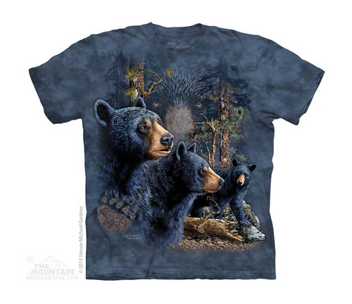 Image for The Mountain Youth T-Shirt - Find 13 Black Bear
