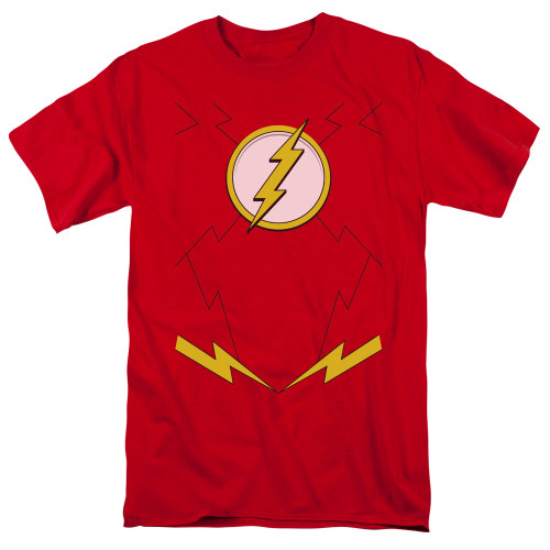 Image for Justice League of America New Flash Uniform T-Shirt