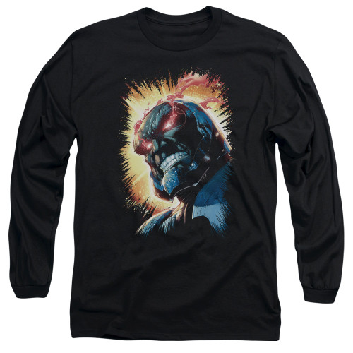 Image for Justice League of America Long Sleeve Shirt - Darkseid is