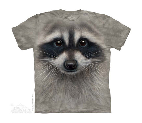 Image for The Mountain Youth T-Shirt - Raccoon Face