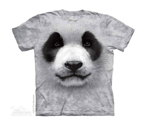 Image for The Mountain Youth T-Shirt - Big Face Panda