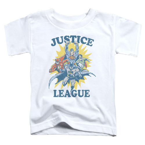 Image for Justice League of America Let's Do This Toddler T-Shirt
