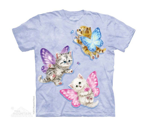 Image for The Mountain Youth T-Shirt - Butterfly Kitten Fair