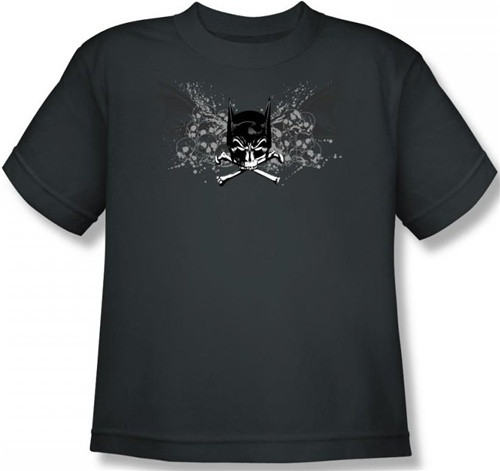 Image for Batman Youth T-Shirt - Ill Omen Logo