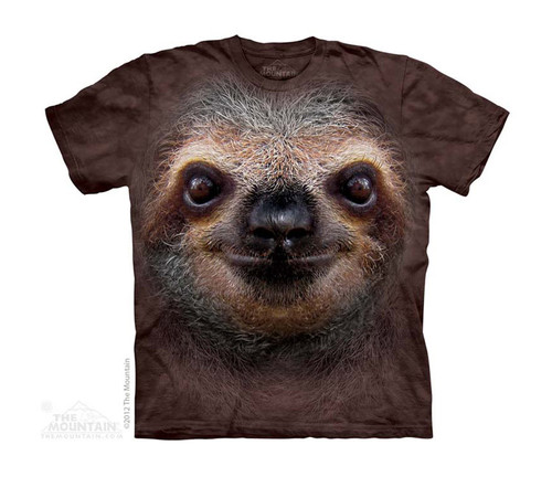 Image for The Mountain Youth T-Shirt - Sloth Face