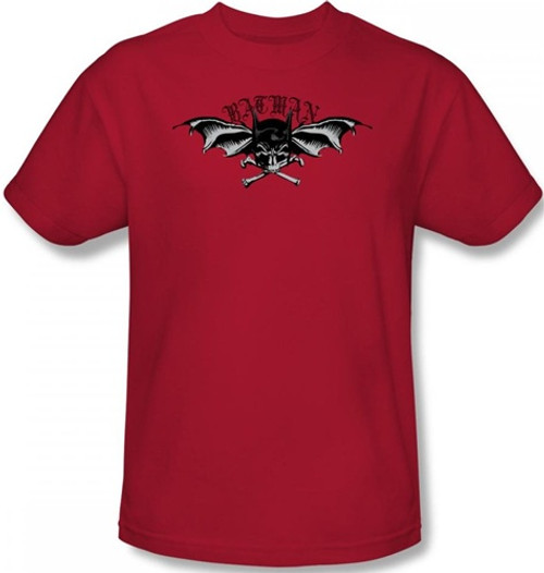 Image Closeup for Batman T-Shirt - Wings of Wrath Logo