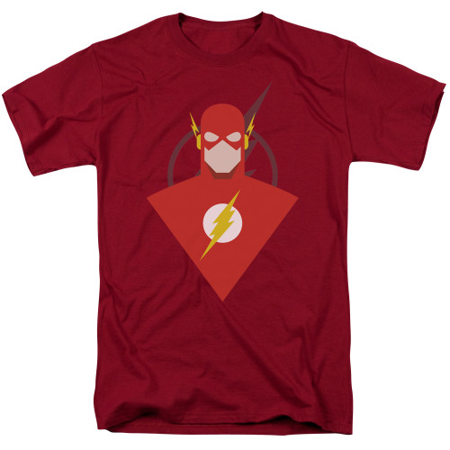 Image for Justice League of America Simple Flash T-Shirt