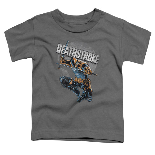 Image for Justice League of America Deathstroke Retro Toddler T-Shirt