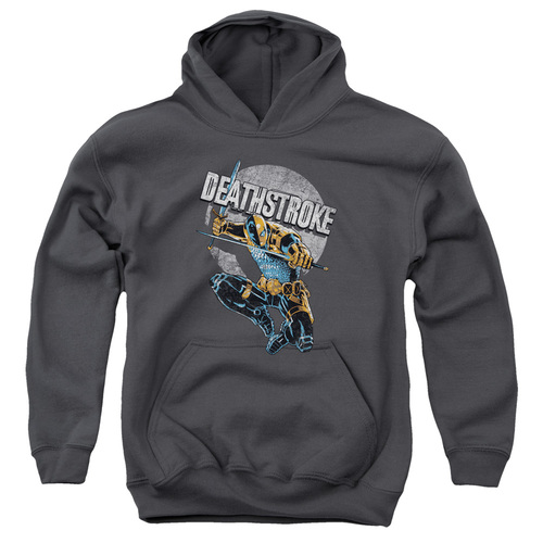 Image for Justice League of America Youth Hoodie - Deathstroke Retro
