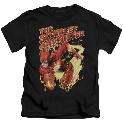Image for Justice League of America Scarlet Speedster Kid's T-Shirt