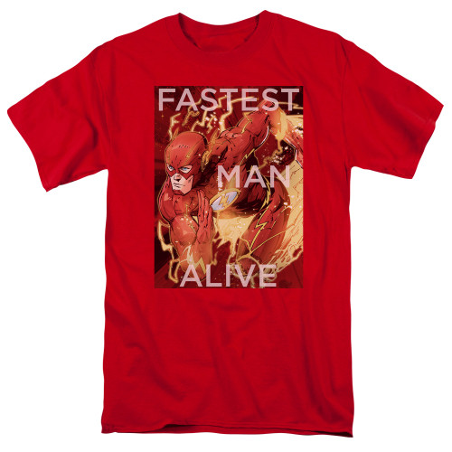 Image for Justice League of America Fastest Man Alive T-Shirt