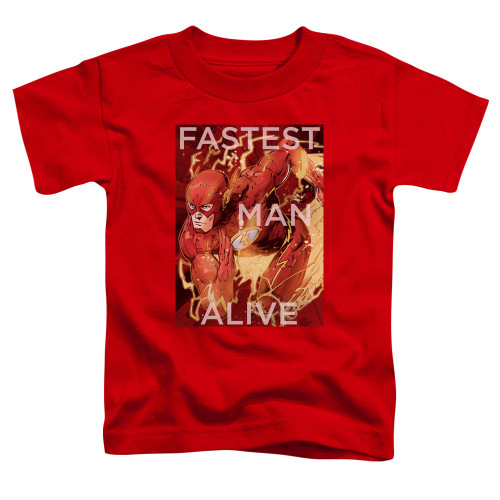 Image for Justice League of America Fastest Man Alive Toddler T-Shirt
