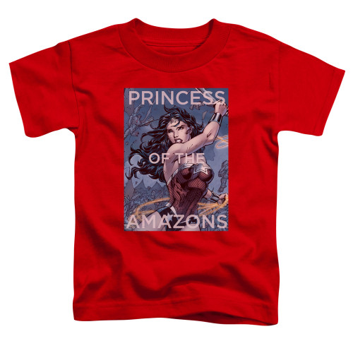 Image for Justice League of America Princess of the Amazons Toddler T-Shirt