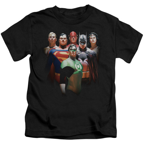 Image for Justice League of America Roll Call Kid's T-Shirt