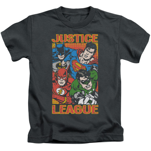 Image for Justice League of America Hero Mashup Kid's T-Shirt