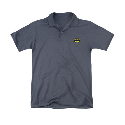Image for Batman Polo Shirt - Logo Embroidered Patch