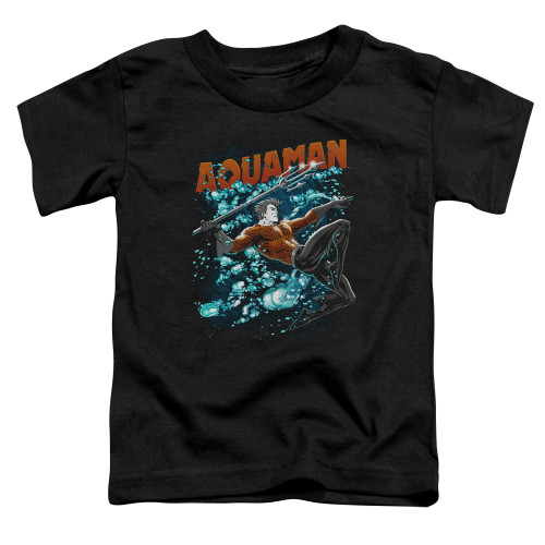Image for Justice League of America Aqua Bubbles Toddler T-Shirt