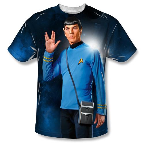 Image for Star Trek Sublimated T-Shirt - Live Long 100% Polyester