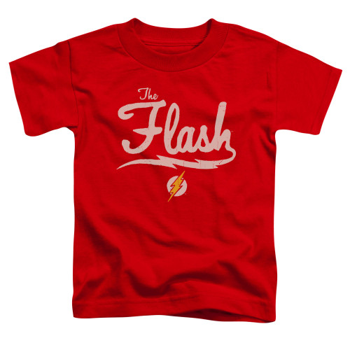 Image for Justice League of America Old School Flash Toddler T-Shirt
