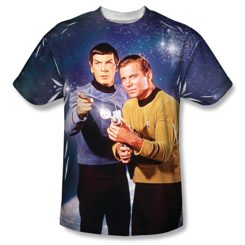 Image for Star Trek Sublimated T-Shirt - Shoot There 100% Polyester