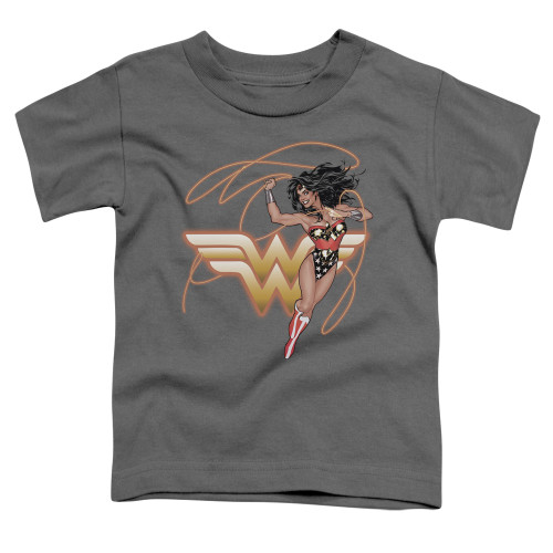 Image for Justice League of America Glowing Lasso Toddler T-Shirt