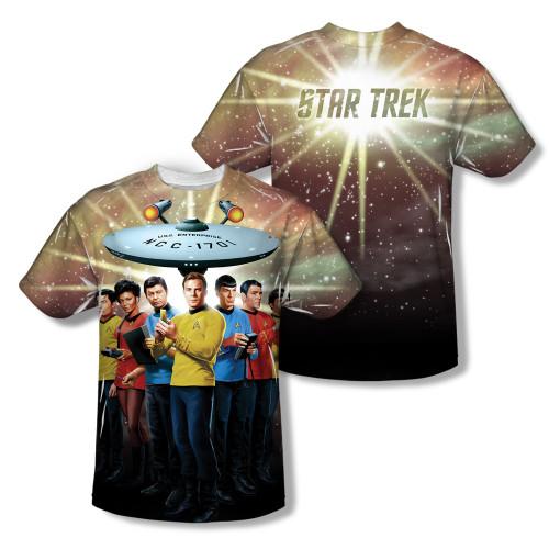 Image Closeup for Star Trek Sublimated T-Shirt - Original Crew