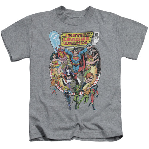 Image for Justice League of America Team Up Kid's T-Shirt