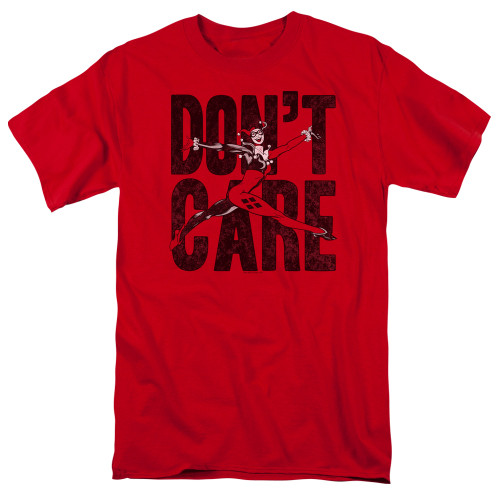Image for Justice League of America Don't Care T-Shirt