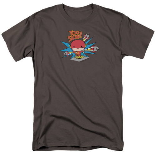 Image for Justice League of America Flash Too Slow T-Shirt