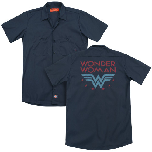 Image for Justice League of America Work Shirt - Wonder Stars