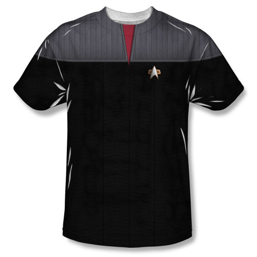 Image for Star Trek Sublimated Youth T-Shirt - TNG Movie Command Uniform 100% Polyester