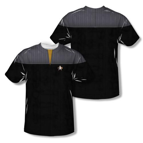 Image Closeup for Star Trek Sublimated T-Shirt - TNG Movie Engineering Uniform